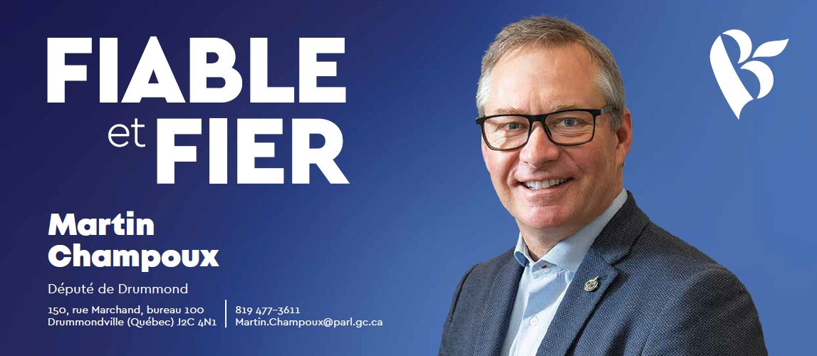 Courrier de circonscription Martin Champoux